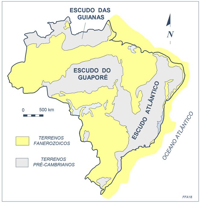 História Geológica De Minas Gerais Recursos Minerais De